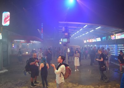 blade runner experience sdcc 2017 - inside
