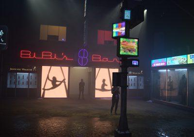 Blade Runner Experience sdcc 2017 - bibis-bar