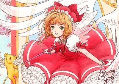 Cardcaptor Sakura close up
