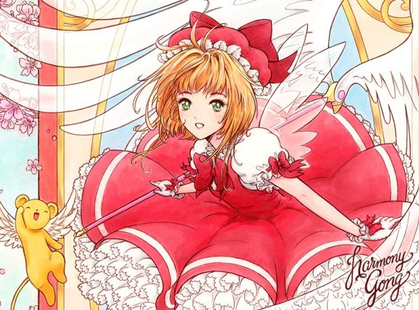 Cardcaptor Sakura close up