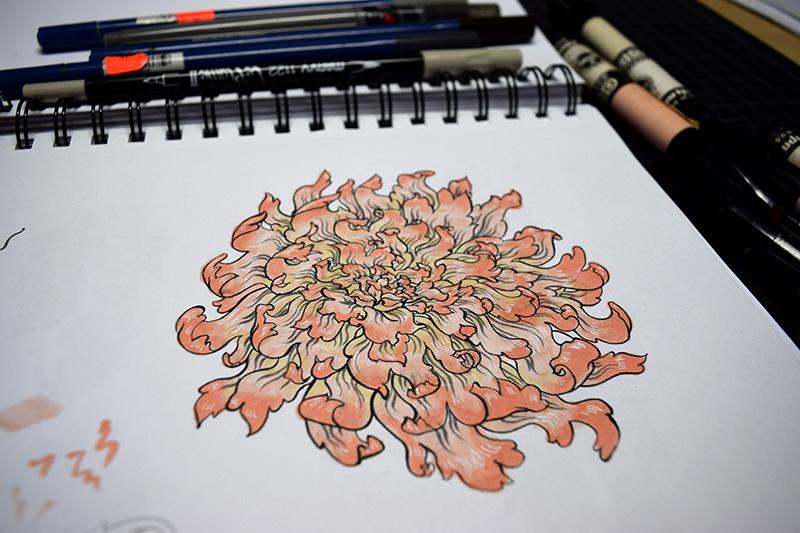 Chartpak Marker Flower