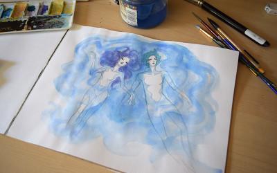 Floating Sketch