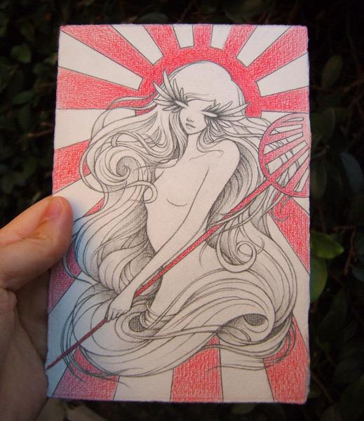 Goddess of the Rising Sun - ACAC