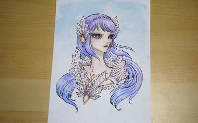 Rose Quartz Princess Sketch