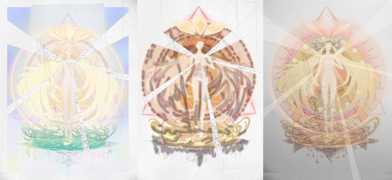 The Transformation - Photoshop Color Studies